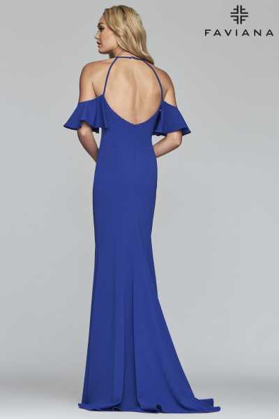 Faviana S10283 Has Straps and Off The Shoulder picture 1