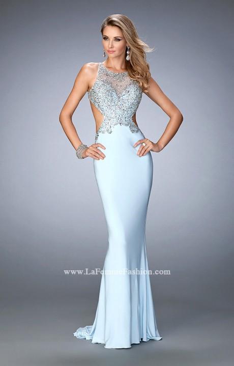 Gigi 22642 Butterfly Cut Out Dress Prom Dress
