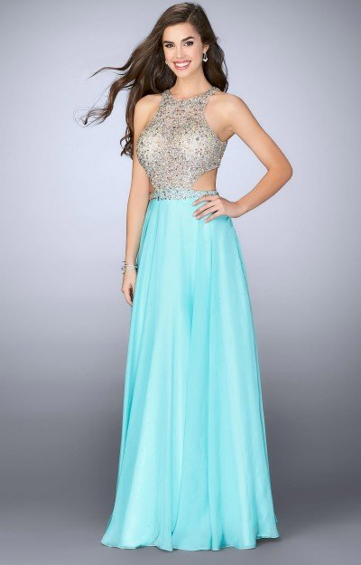 Sparkle Top with Chiffon Skirt