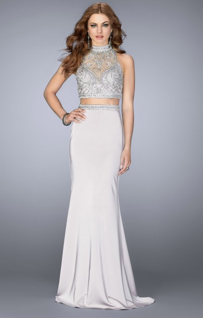 Beautifully Beaded Two Piece Dress