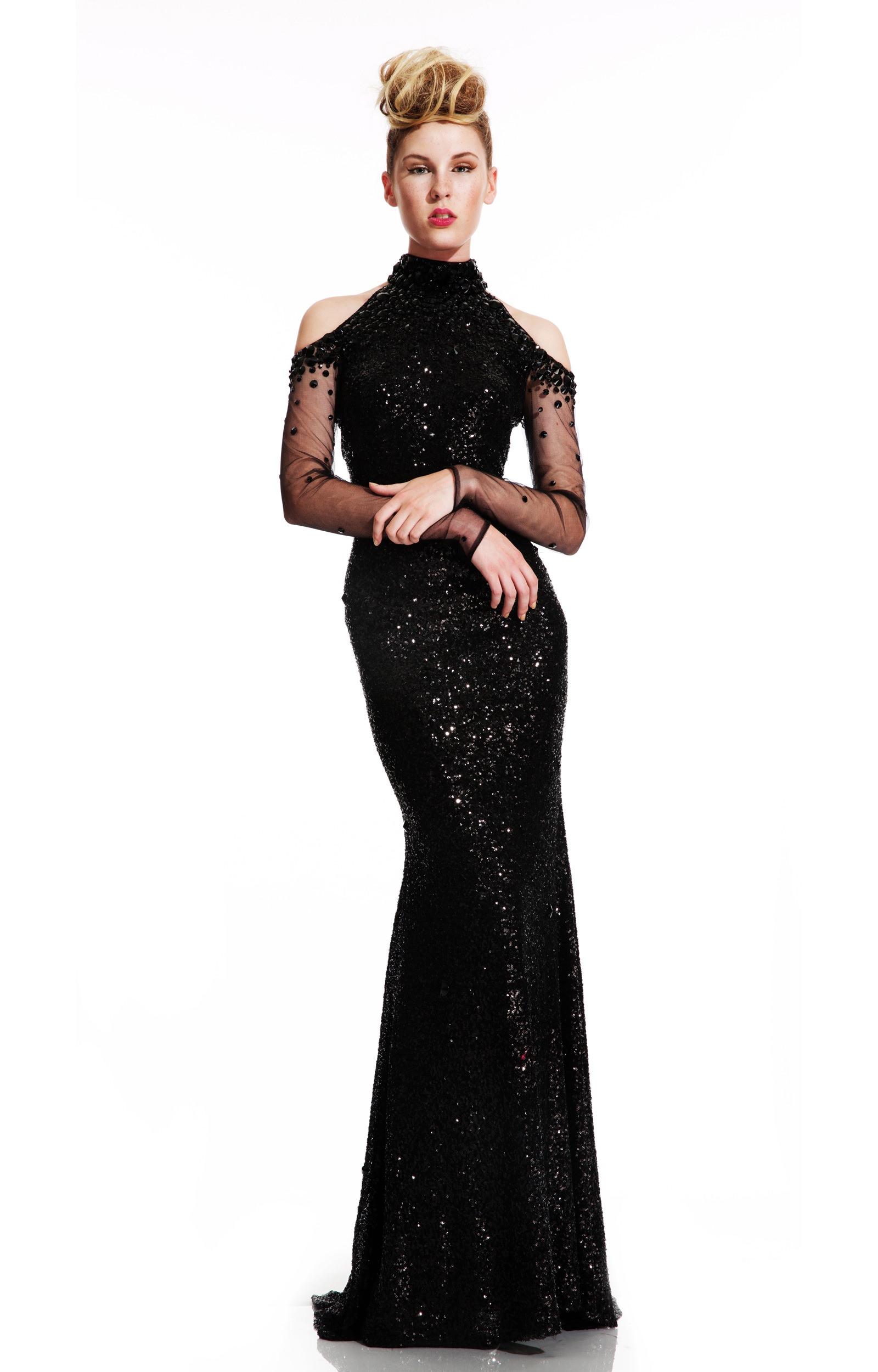 Orange Chiffon Its Fashion Metro Blouses Dark Brown: The Dark Lady Prom Dress