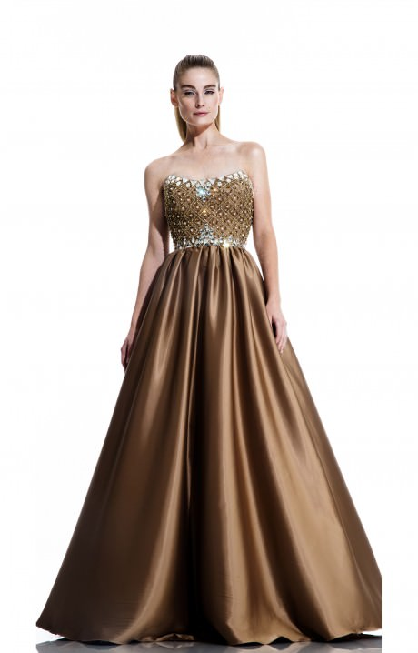 Johnathan Kayne 511 Her Majesty The Queen Prom Dress