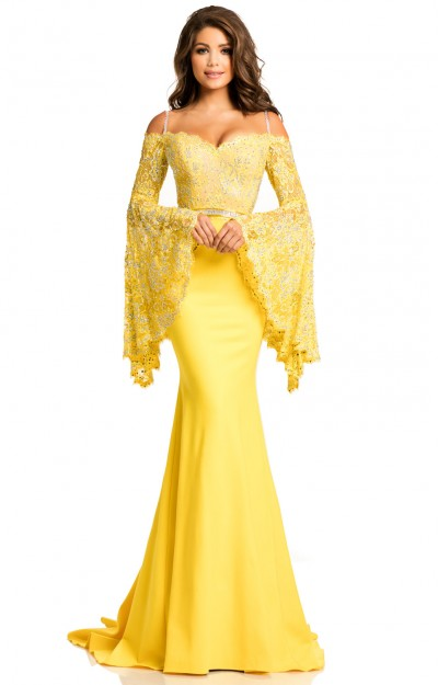 yellow prom dresses formal gowns sexy home ing cheap