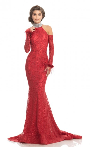 Dresses With Feathers 2019 Prom Formal Evening Dresses