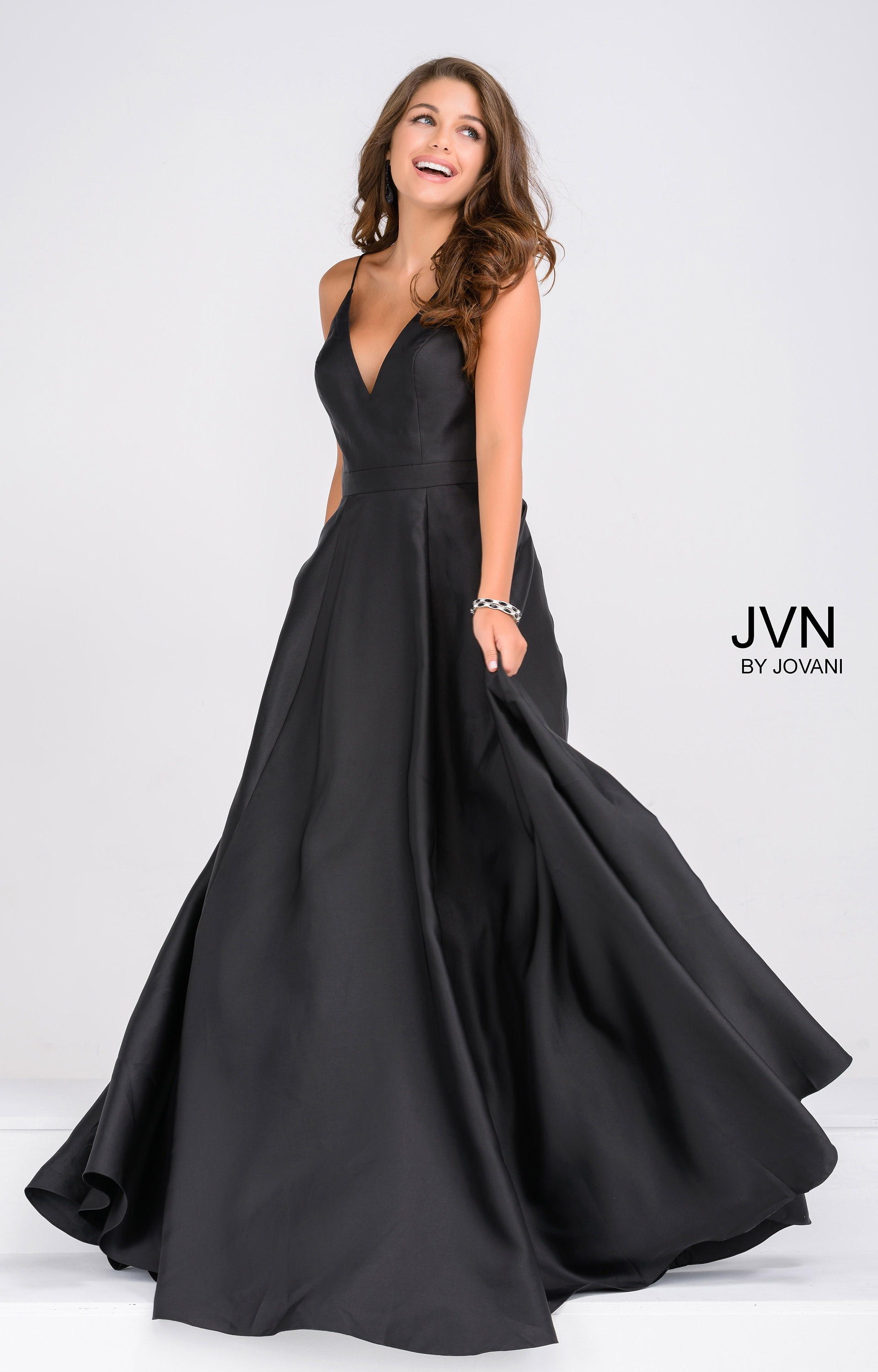 46d4502e1acf9 Jovani Ball Gown With Pockets - Down To Earth Bali