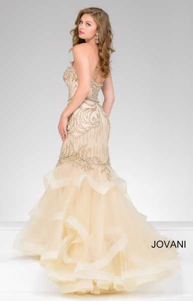 Jovani 36984 Strapless and Sweetheart picture 1