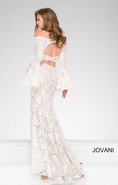 Jovani 45894 Off The Shoulder picture 1