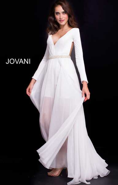 Jovani 49266 Has Straps picture 1
