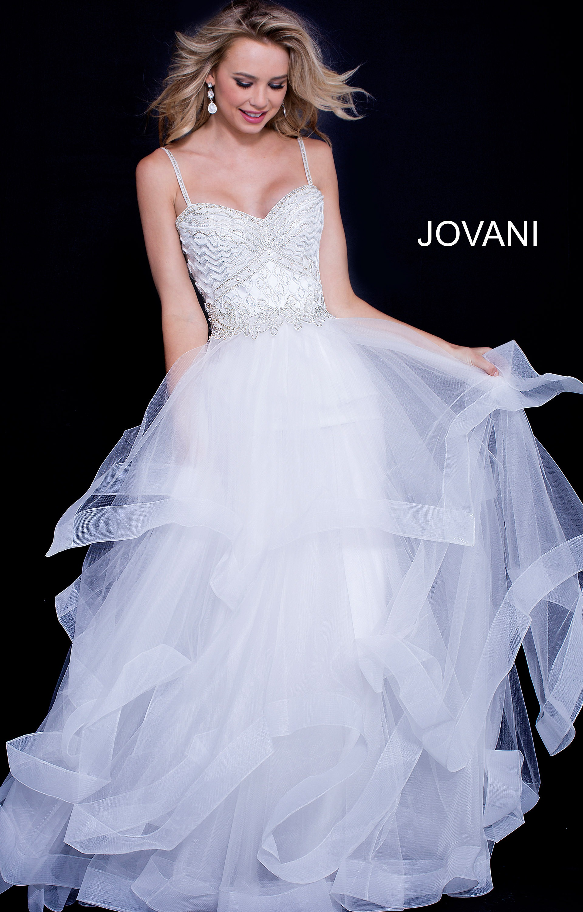 Jovani 50116 - Flirty Long Ball Gown Prom Dress