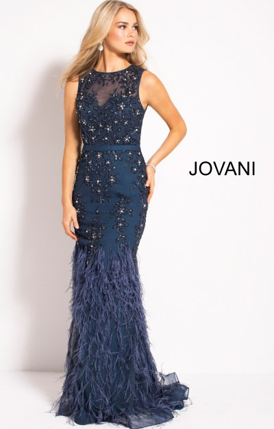 Dresses With Feathers 2018 Prom Formal Evening Dresses
