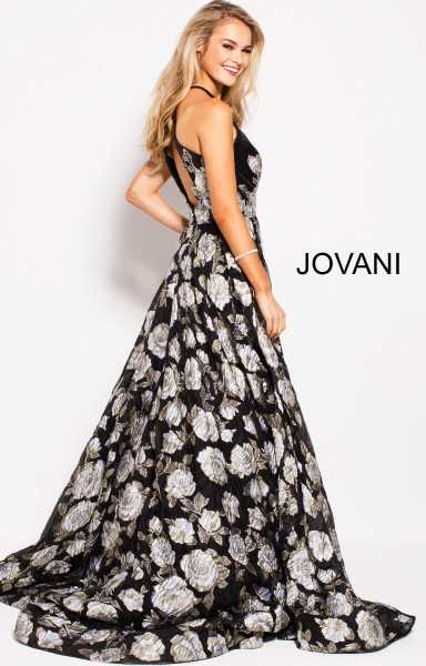 Jovani 55705 High Neck picture 1