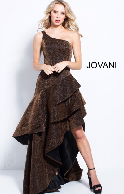 Brown Prom Dresses Formal Chocolate Tan And Beige