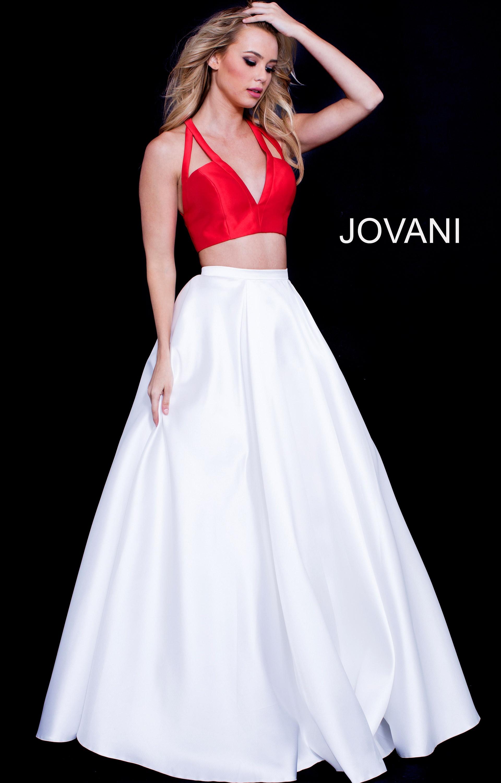 3151065f20c Jovani 57207 - V Neck Bell Sleeve Mermaid Prom Dress