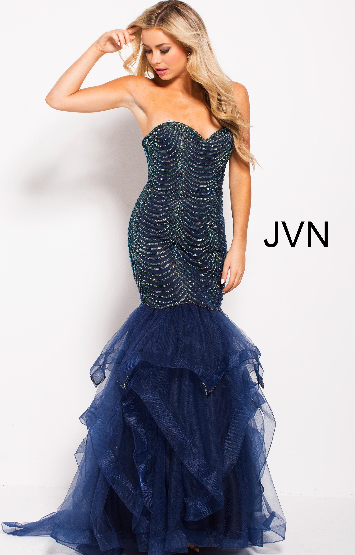 Jovani jvn60604 - Strapless Sweetheart Neckline Mermaid ...