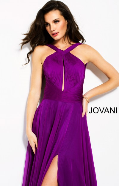 Flowing Halter Dress