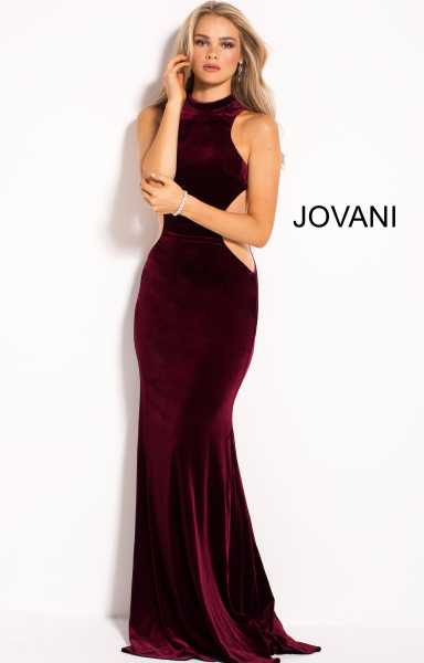 Jovani 55005 High Neck picture 1