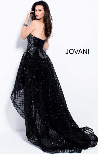 Jovani 55733 High-Low picture 3
