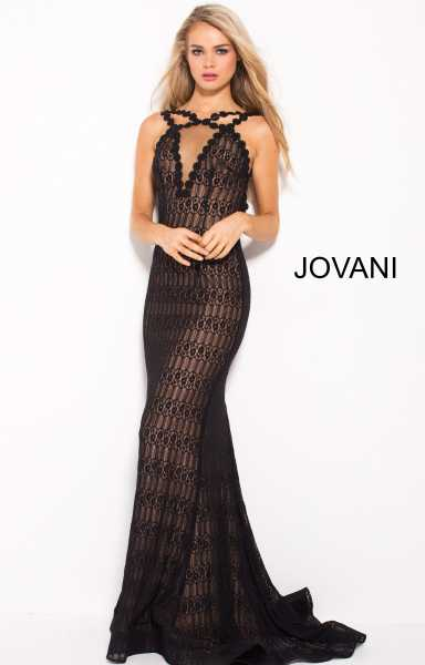 Jovani 57815 Has Straps picture 1