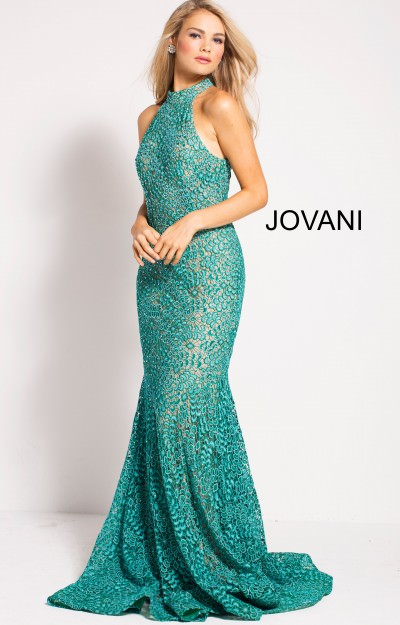 Long Fitted Mermaid Dress