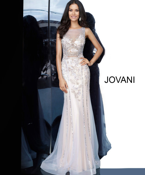 Jovani 02580 High Neck picture 1
