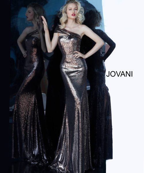 Jovani 1100 One Shoulder picture 1