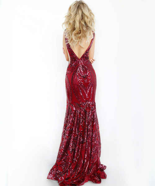 Jovani 3186 V-Shape picture 1