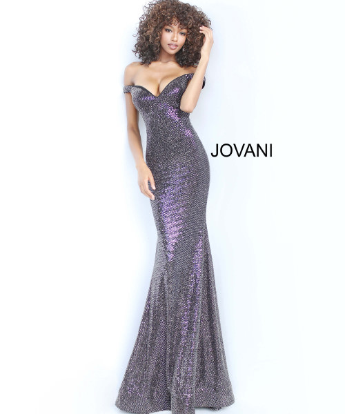 Jovani 3408 Off The Shoulder picture 1