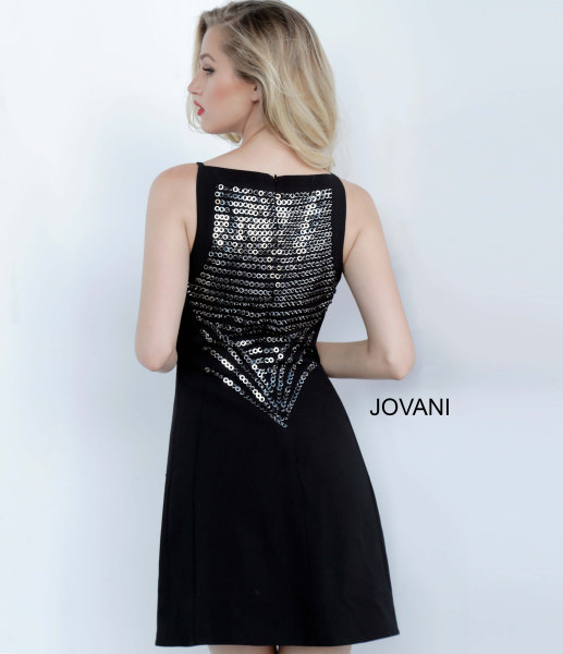 Jovani 66372 High Neck picture 1