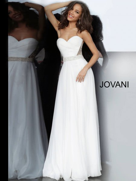 Jovani 00457 Strapless and Sweetheart picture 1