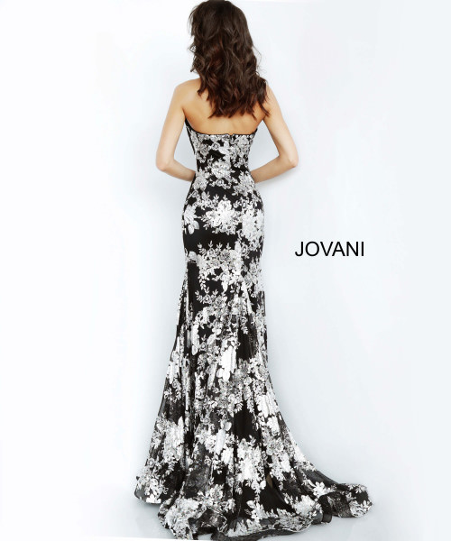 Jovani 02475 Strapless and Sweetheart picture 1