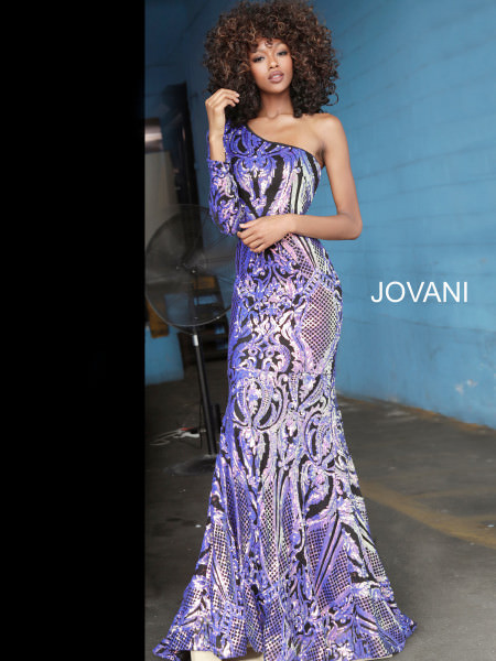 Jovani 3477 One Shoulder picture 1