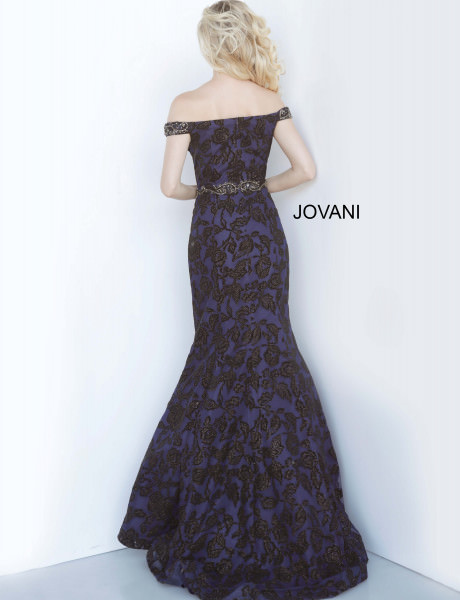 Jovani 52270 Off The Shoulder picture 1