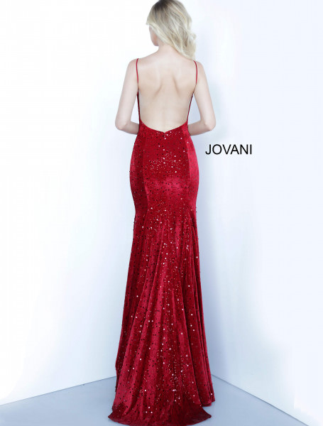 Jovani 63895 V-Shape picture 1