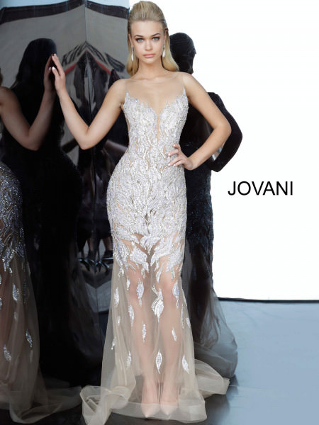 Jovani 67786 High Neck picture 1