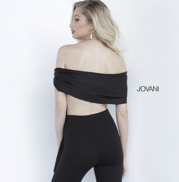 Jovani 68693 Off The Shoulder picture 1