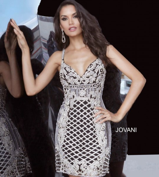 Jovani 68834 Fitted picture 2