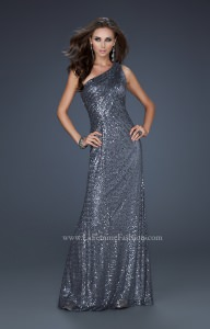 La Femme 17018 One Shoulder picture 1