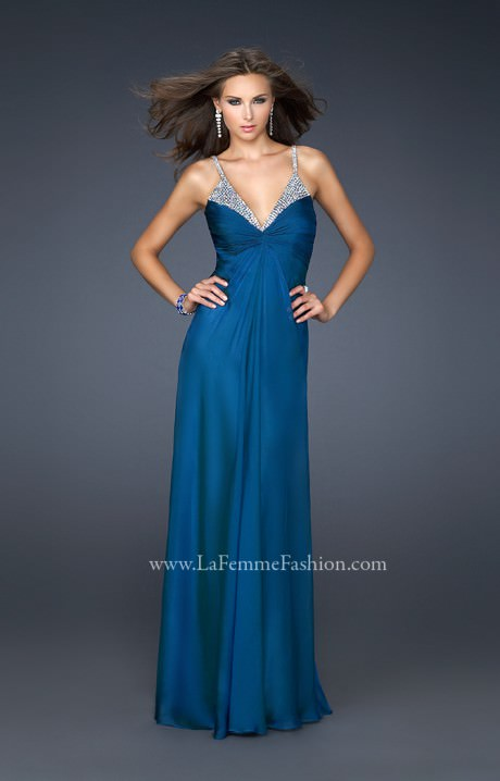 La Femme 17019 Dripping In Diamonds Prom Dress