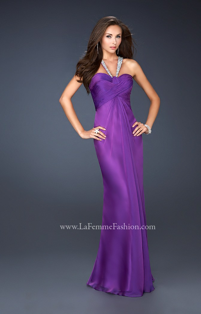 La Femme 17441 Sexy And Strappy Prom Dress