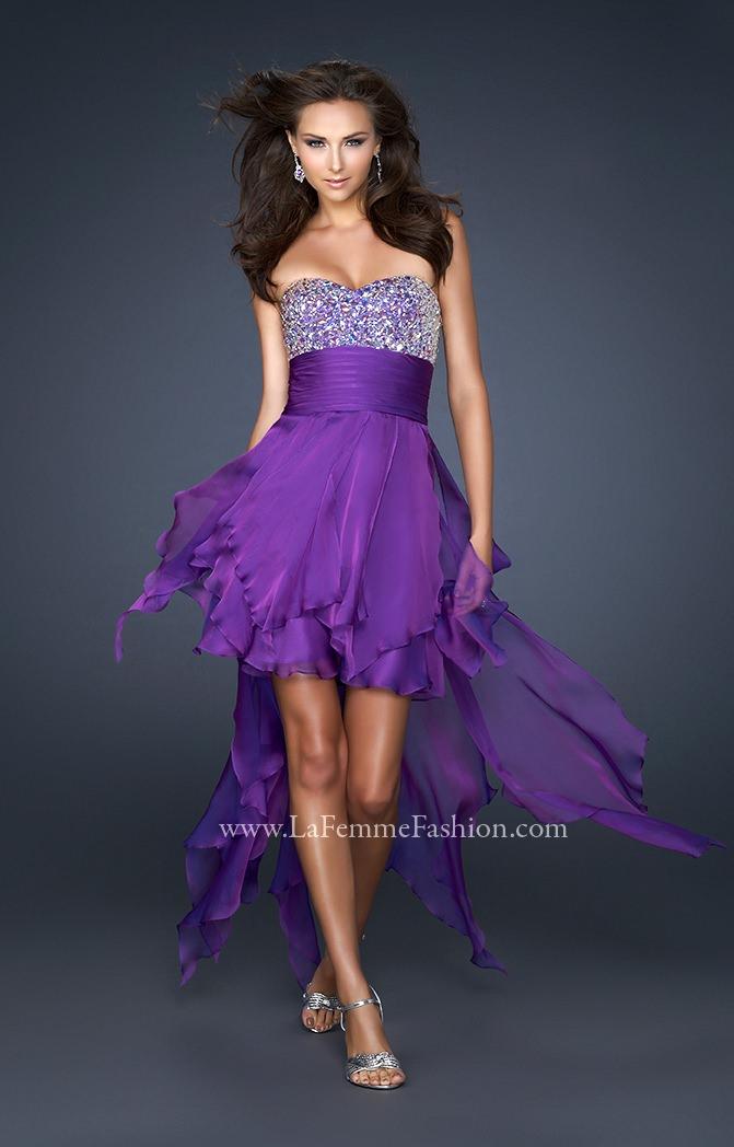 La Femme 17687 Naughty And Nice Dress Prom Dress