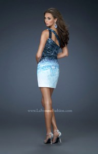 La Femme 18029 One Shoulder picture 1