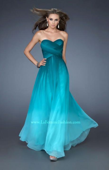 La Femme 18497 - Breath of Fresh Air Prom Dress