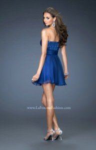 La Femme 18162 Strapless and Sweetheart picture 1