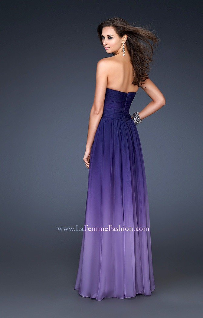 La Femme 17004 Ombre Obsession Prom Dress