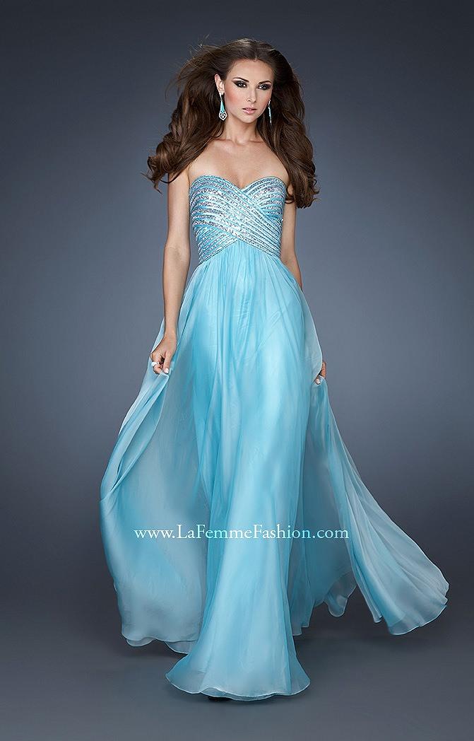 La Femme 18342 Angel Wings Prom Dress