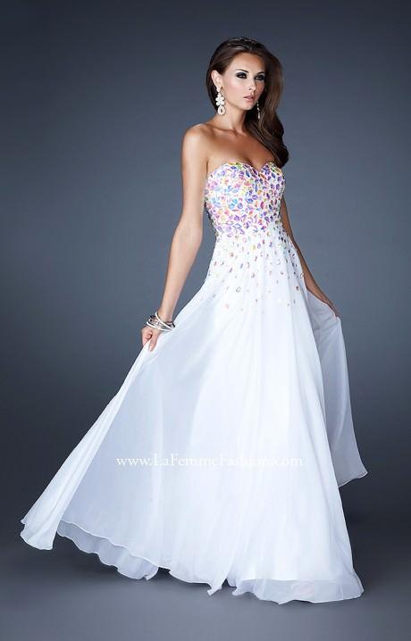 La Femme 18532 Rockstar Chiffon Gown Prom Dress