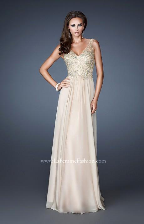 La Femme 18932 Glitterati Gown Prom Dress