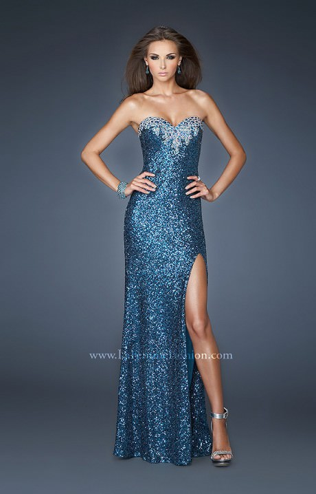 La Femme 18982 - The Goal Digger Prom Dress