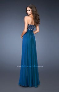 La Femme 18581 Strapless and Sweetheart picture 1