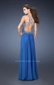 La Femme 18631 Sparkly Halter Gown Prom Dress